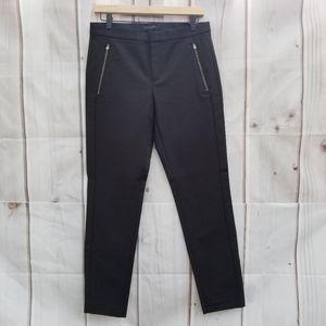 Banana Republic Addison Black Slim Ankle Pants 6R